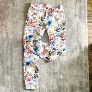 Tommy Bahama floral ankle pant
